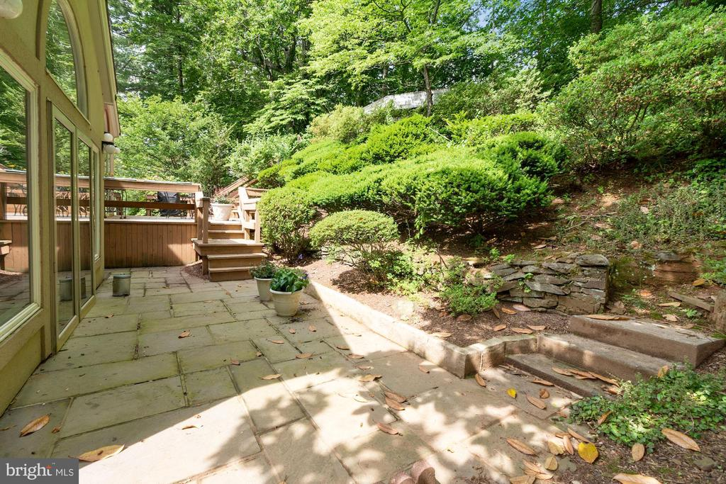 Rear Patio leading to Deck - 8531 W HOWELL RD, BETHESDA