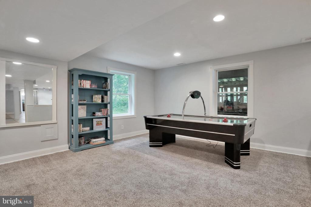Lower Level Family Room - 11302 GAMBRILL PARK RD, FREDERICK