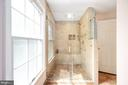 Primary Shower - 9 OAKBROOK CT, STAFFORD