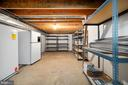 Large Storage Room with Shelving - 9 OAKBROOK CT, STAFFORD