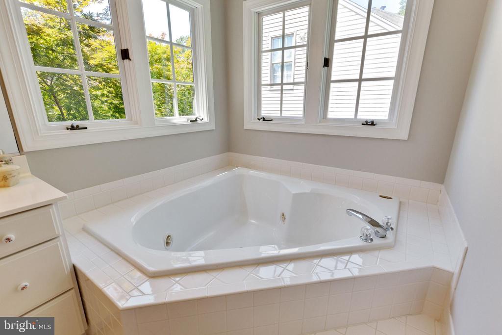 Soaking Tub in Primary Bathroom - 4346 MULCASTER TER, DUMFRIES