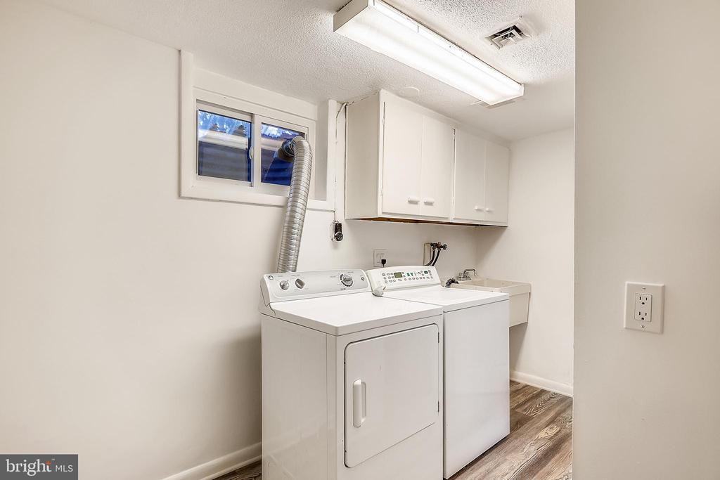 Laundry room - 6801 GRANBY ST, BETHESDA