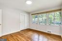 Main leverl bedroom #2 - 6801 GRANBY ST, BETHESDA