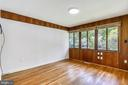 Main level bedroom #1 - 6801 GRANBY ST, BETHESDA