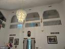 Upper walkway in formal living rm w/ custom arches - 745 & 747 MERRIMANS LN, WINCHESTER
