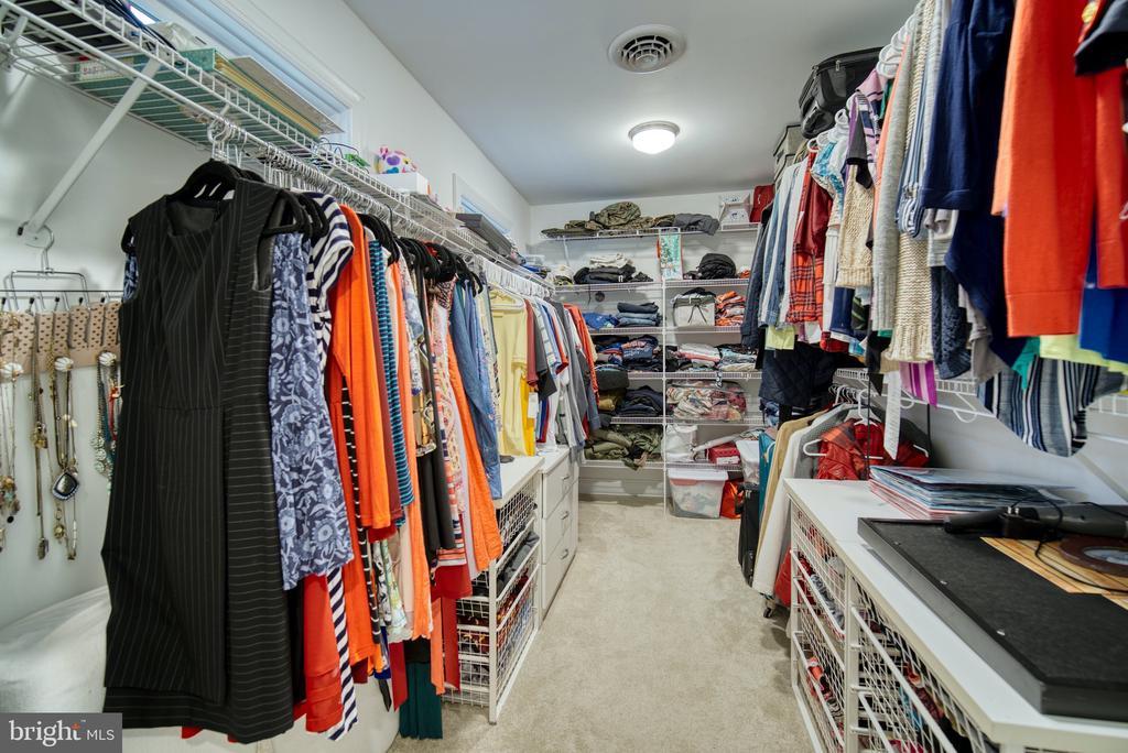 HUGE Owner's Suite Closet - 1202 CORTINA WAY, SEVERN