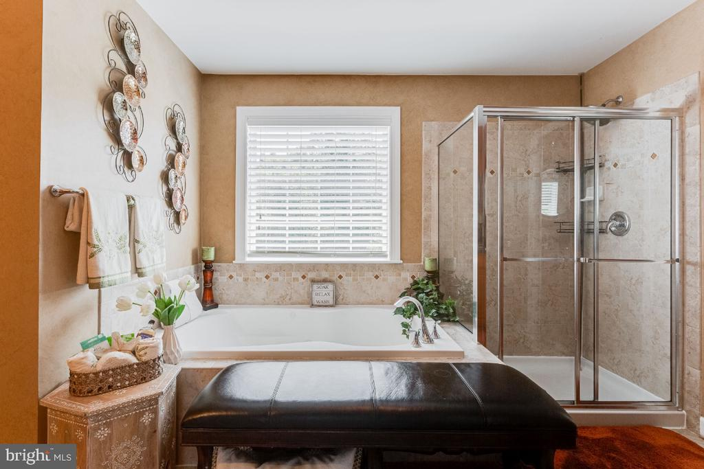 Owner Suite Ensuite with Soaking Tub - 4917 TROTTERS GLEN DR, UPPER MARLBORO