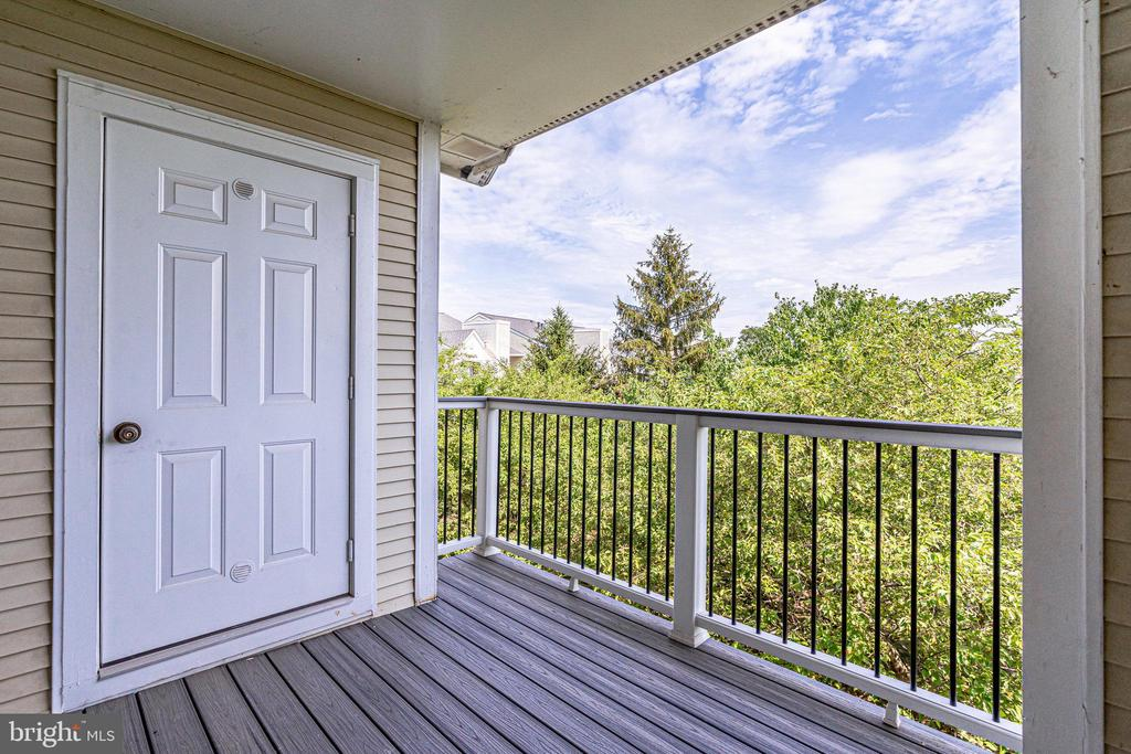 Top floor balcony with view - 44154 NATALIE TER #301, ASHBURN