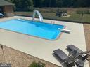 Heated 40x20 Pool  w/ Diving Board & Slide! - 23039 RAPIDAN FARMS DR, LIGNUM