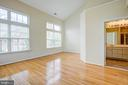 Master suite with vaulted ceilings! - 5122 KNAPP PL, ALEXANDRIA