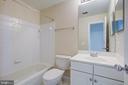 2nd full bathroom - 5122 KNAPP PL, ALEXANDRIA