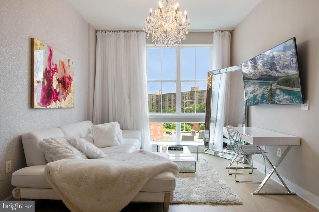 Living Room - 989 S BUCHANAN ST #421, ARLINGTON
