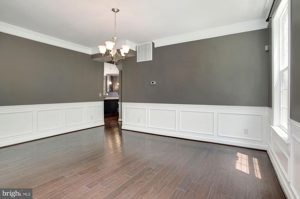 Formal dining room - 37 DONS WAY, STAFFORD