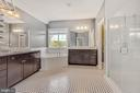 Luxurious primary bathroom - 37 DONS WAY, STAFFORD