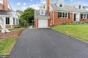 Expansive new driveway and 1 car garage - 1948 SEMINARY RD, SILVER SPRING