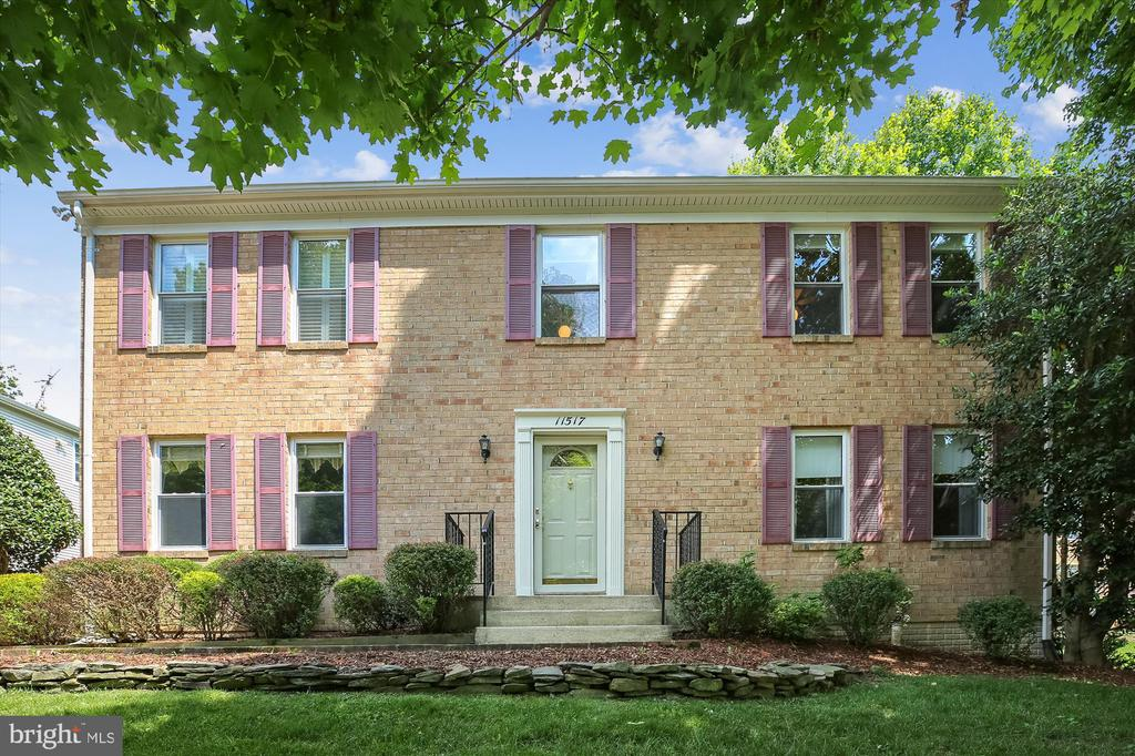 Front Elevation - 11517 DAFFODIL LN, SILVER SPRING