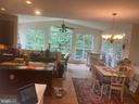 Eat in Kitchen Sunroom view - 6424 TINKLING SPRINGS CT, MANASSAS
