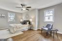 Primary suite - very big and room for king bed - 1948 SEMINARY RD, SILVER SPRING