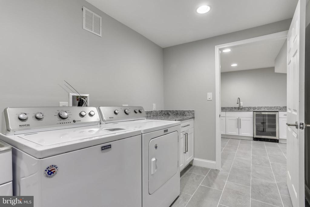 Lower level laundry room - 1948 SEMINARY RD, SILVER SPRING