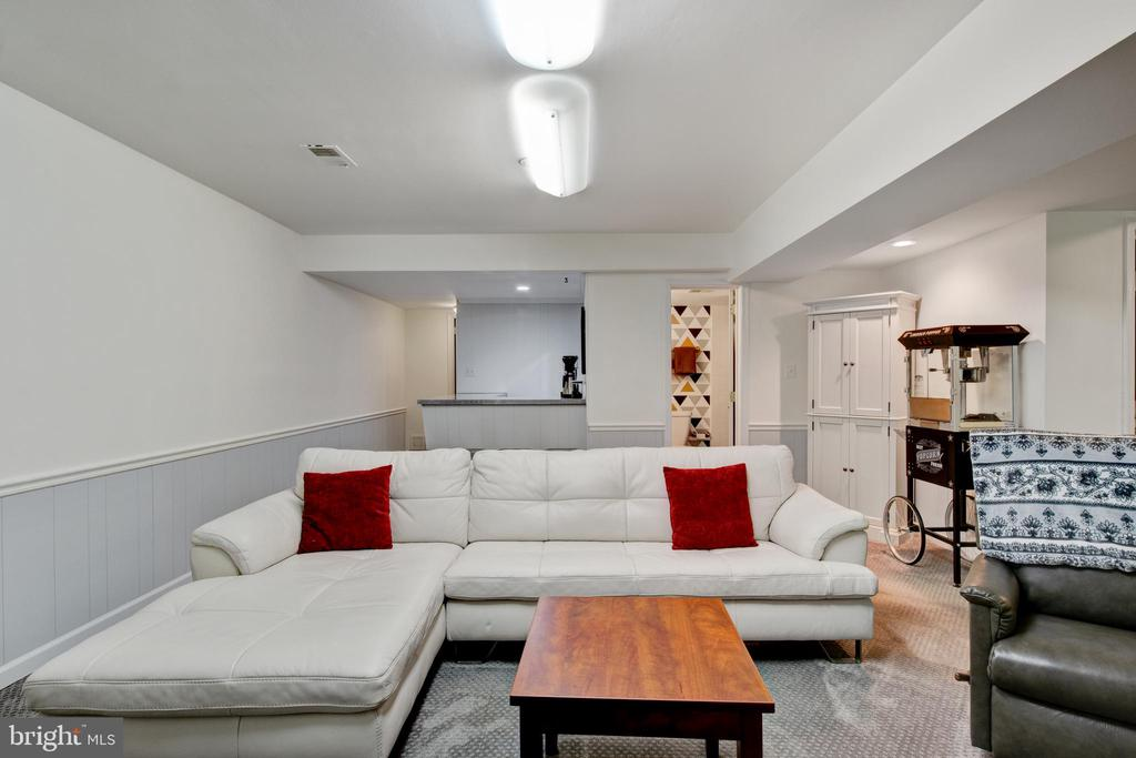 refinished basement - 2415 BLACK CAP LN, RESTON