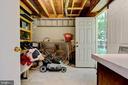 basement storage to back yard - 2415 BLACK CAP LN, RESTON