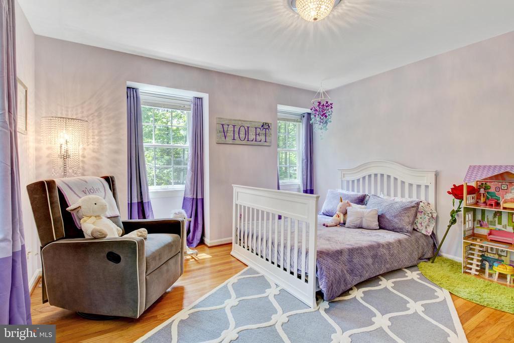 large, front facing bedroom - 2415 BLACK CAP LN, RESTON