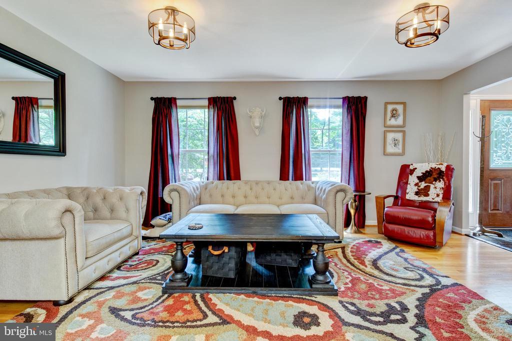 spacious, well lit family room - 2415 BLACK CAP LN, RESTON