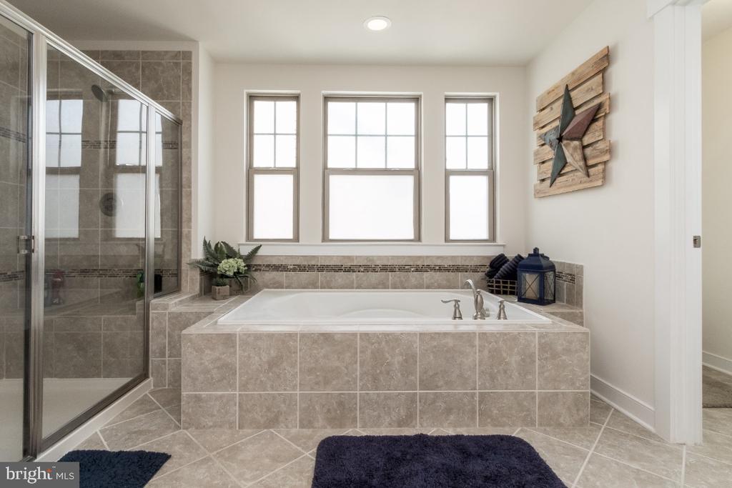 Luxury primary bathroom - 16965 TAKEAWAY LN, DUMFRIES