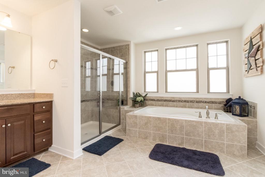 Large shower w/double shower heads - 16965 TAKEAWAY LN, DUMFRIES