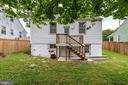 Back of the house - 859 N ABINGDON ST, ARLINGTON