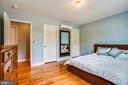 Main Bedroom has zoned HVAC unit - 111 BAKER ST, MANASSAS PARK