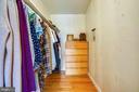 Main bedroom has LARGE walk-in closet - 111 BAKER ST, MANASSAS PARK