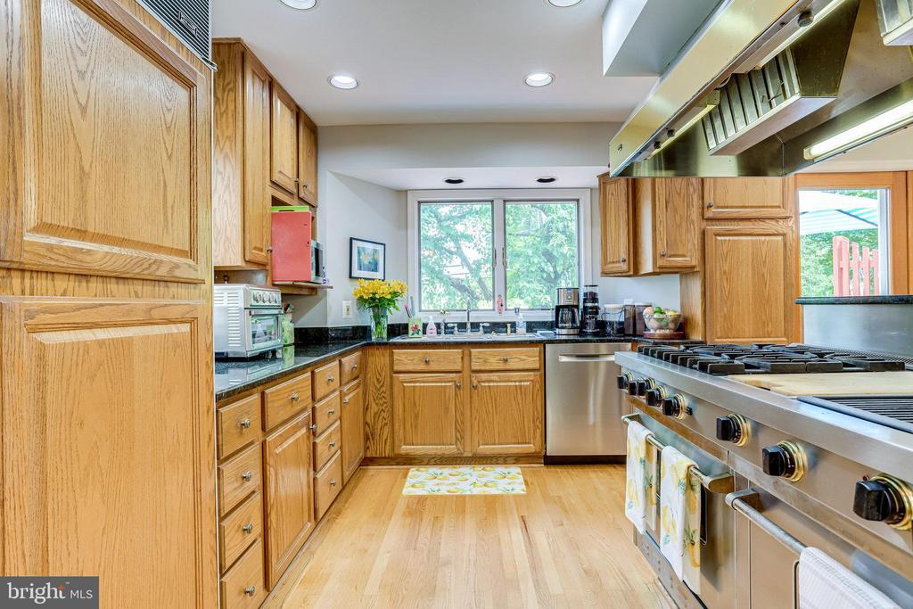 ML-Dream Kitchen. Subzero Refrigerator/Freezer - 607 23RD ST S, ARLINGTON