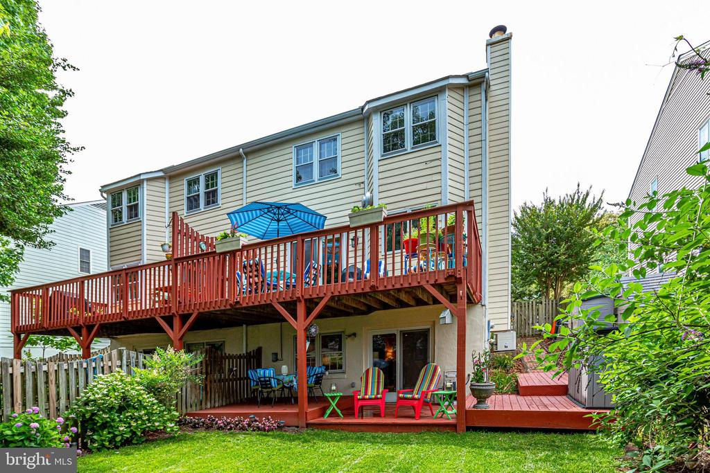BY-View of Double Decks and Beautiful Back Yard - 607 23RD ST S, ARLINGTON