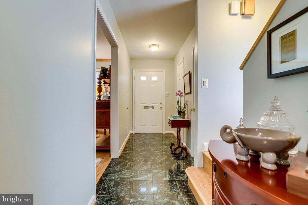ML - Front Hallway - Beautiful marble floors - 607 23RD ST S, ARLINGTON