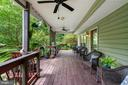 Porch to relax and overlook expansive grounds - 12805 KAHNS RD, MANASSAS