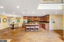 Gourmet kitchen - 12805 KAHNS RD, MANASSAS