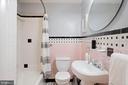 First floor full bath across from bedroom - 12805 KAHNS RD, MANASSAS