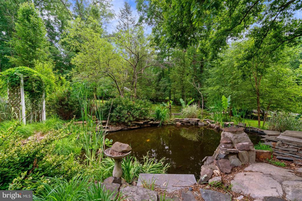 Pond in the front of the house - 12805 KAHNS RD, MANASSAS