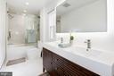 Brand New - Upstairs Full Hall Bathroom - 11568 LINKS DR, RESTON