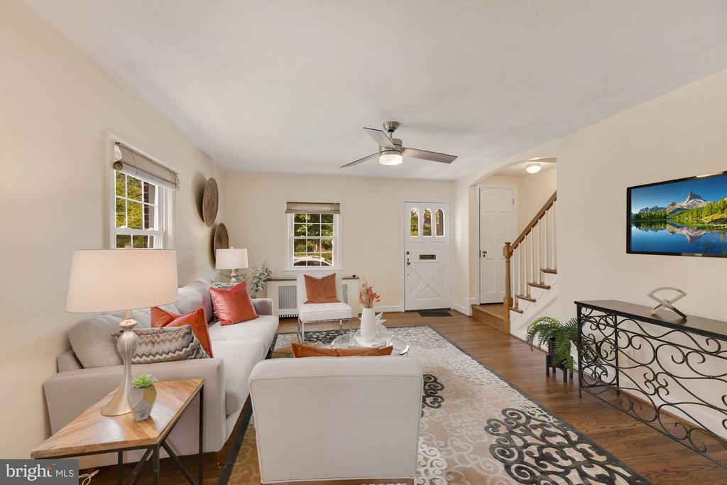 Living Room - 710 N NELSON ST, ARLINGTON