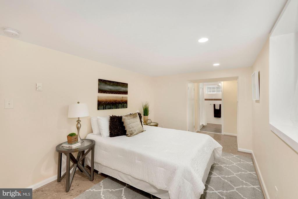 Very large (legal!) Lower Level Bedroom - 710 N NELSON ST, ARLINGTON