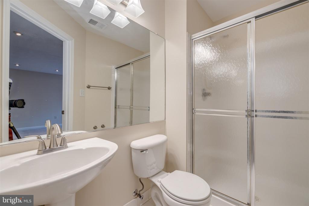 Lower Level Full Bath - 6651 PATENT PARISH LN, ALEXANDRIA
