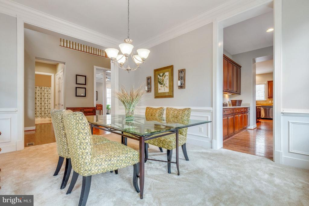 Open & Bright Formal Dining Room - 41873 REDGATE WAY, ASHBURN