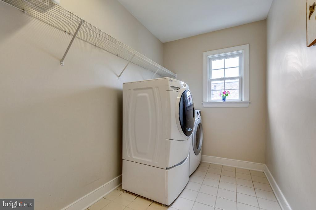 Laundry Room on the Bedroom Level - 41873 REDGATE WAY, ASHBURN