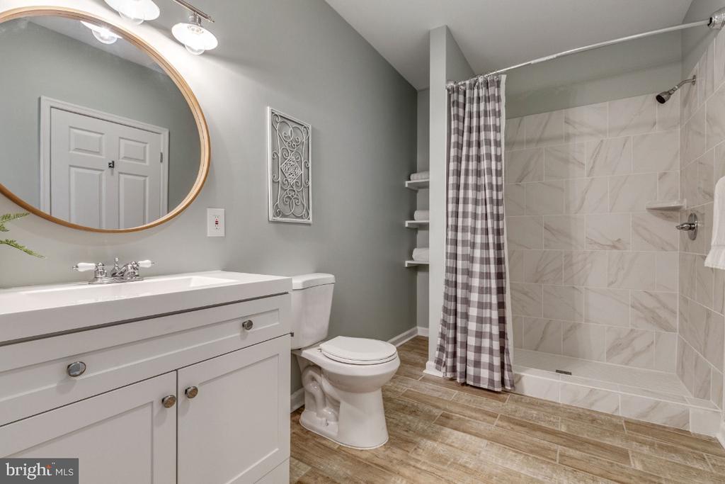 Wonderful Full Bathroom on the Lower Level - 41873 REDGATE WAY, ASHBURN