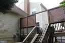 Back of house - 8235 WALNUT RIDGE RD, FAIRFAX STATION