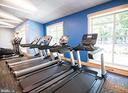 Workout overlooking the lake - 205 PINE VALLEY RD, LOCUST GROVE