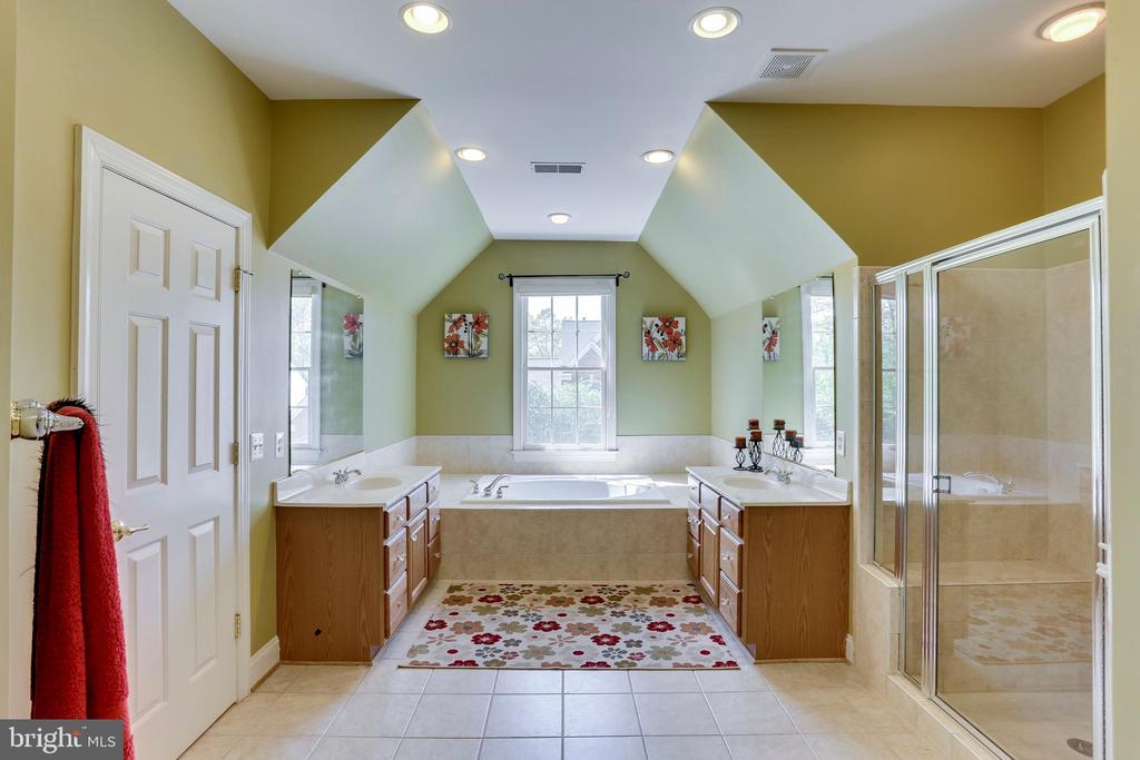 Master Bathroom Retreat great character! - 4525 MOSSER MILL CT, WOODBRIDGE