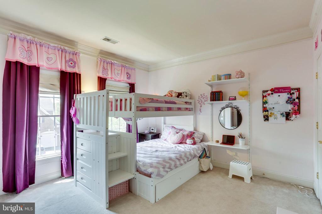 Nice size bedrooms - 4525 MOSSER MILL CT, WOODBRIDGE